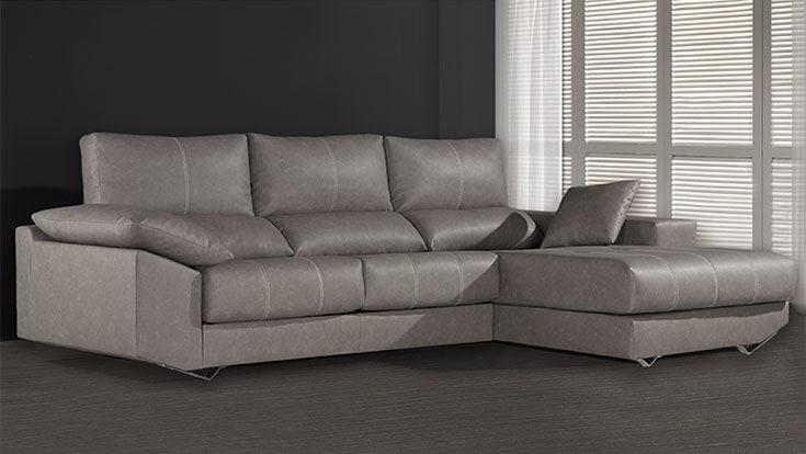 Sof tela huelva galer as del tresillo Conforama sofas cheslong