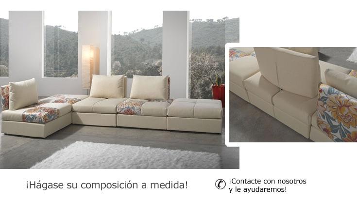 Preview for Sofa rinconera de piel