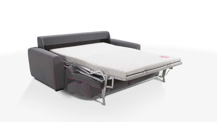 Sof cama more galer as del tresillo for Sofas cama dos plazas sistema italiano
