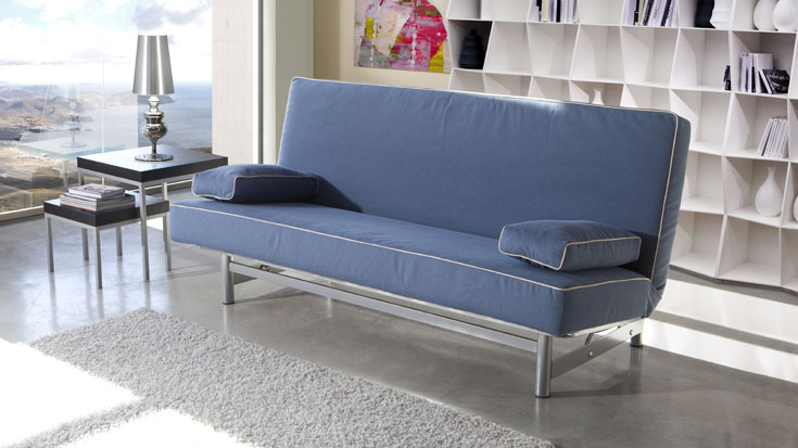 Pin sofa cama click clack resistente con arcon nido para for Sofa cama sin brazos